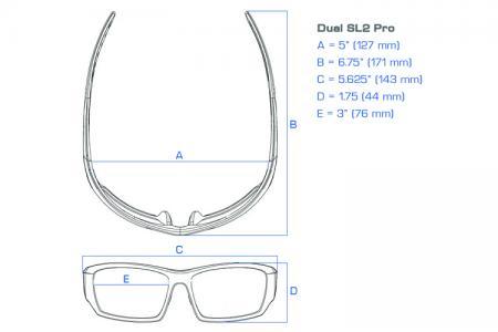 Dual Power Eyewear SL2 Pro Lesebrille