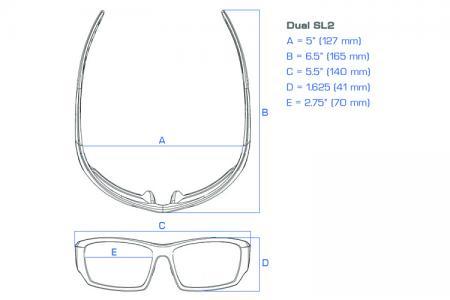Dual Power Eyewear SL2 Lesebrille