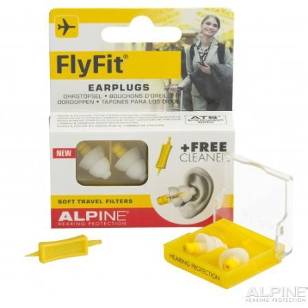 Gehörschutz Alpine FlyFit, Gehörschutz für Reisen
