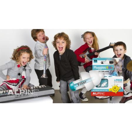 Gehörschutz Alpine Pluggies Kinder