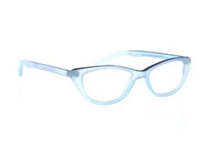 Grease Lesebrille Blue-Blue, doppelfarbig, frech und leicht