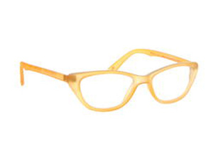 Grease Lesebrille Orange-Beige