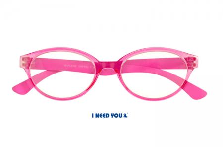 Marlene in Pink, feminine Lesebrille im Retro-Style aus Kunststoff