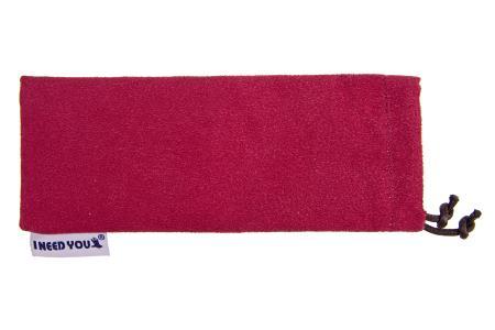Woody Sonnen-Lesebrille im Wayfarer-Style in Rot