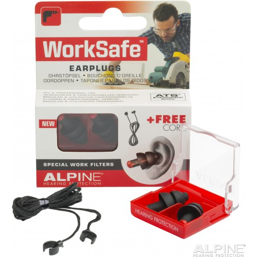 Image of Gehörschutz Alpine WorkSafe, Gehörschutz zum Arbeiten