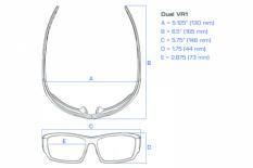 Dual Power Eyewear VR1 Lesebrille