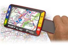 Ruby XL HD, portables elektronisches Lesegerät für Text und Bild