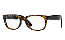 Ray-Ban New Wayfarer Original<br>Retro Lesebrille, Dark Havana
