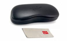 Ray-Ban Wayfarer Original<br>Retro Lesebrille, Shiny Black