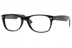 Ray-Ban New Wayfarer Original <br>Retro Lesebrille, Shiny Black