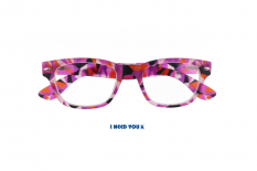 Woody Crazy Lesebrille, Rot