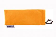 Woody Lesebrille im Wayfarer-Style in Orange