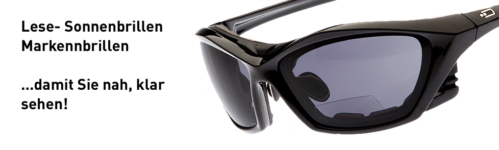 Lese-Sonnenbrille, Sonnenbrille mit Korrektur